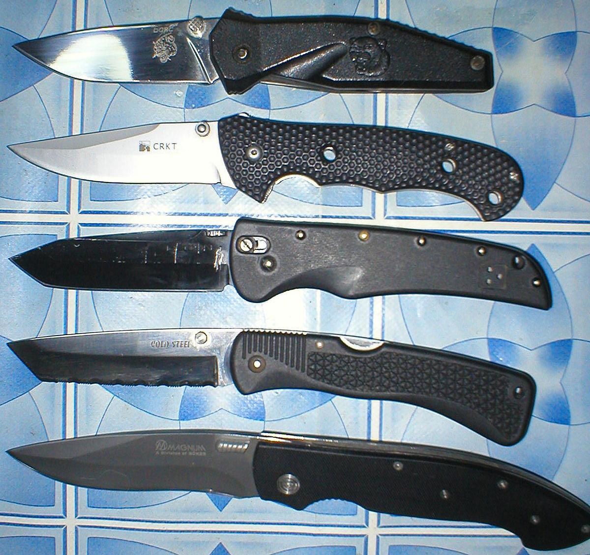 Боевые складные ножи