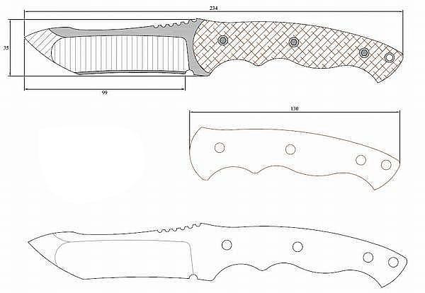 Чертеж ножа i_ronhead II