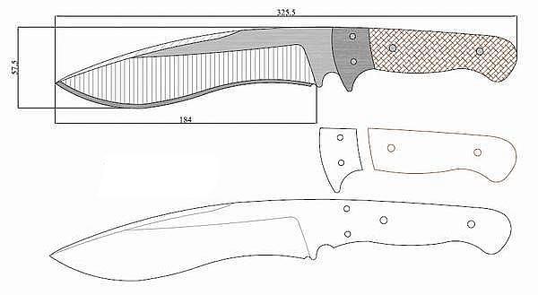 Чертеж ножа T_briton_terminator_4