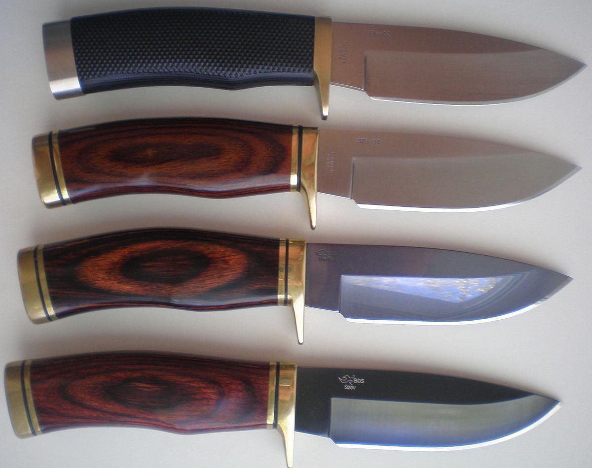 Маленькие охотничьи ножи