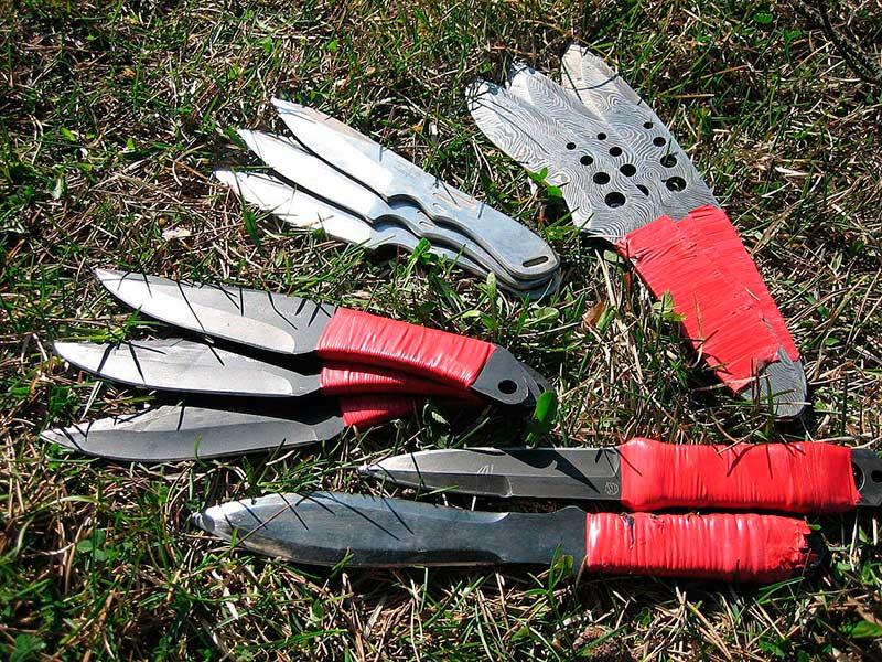 Метательные ножи характеристики