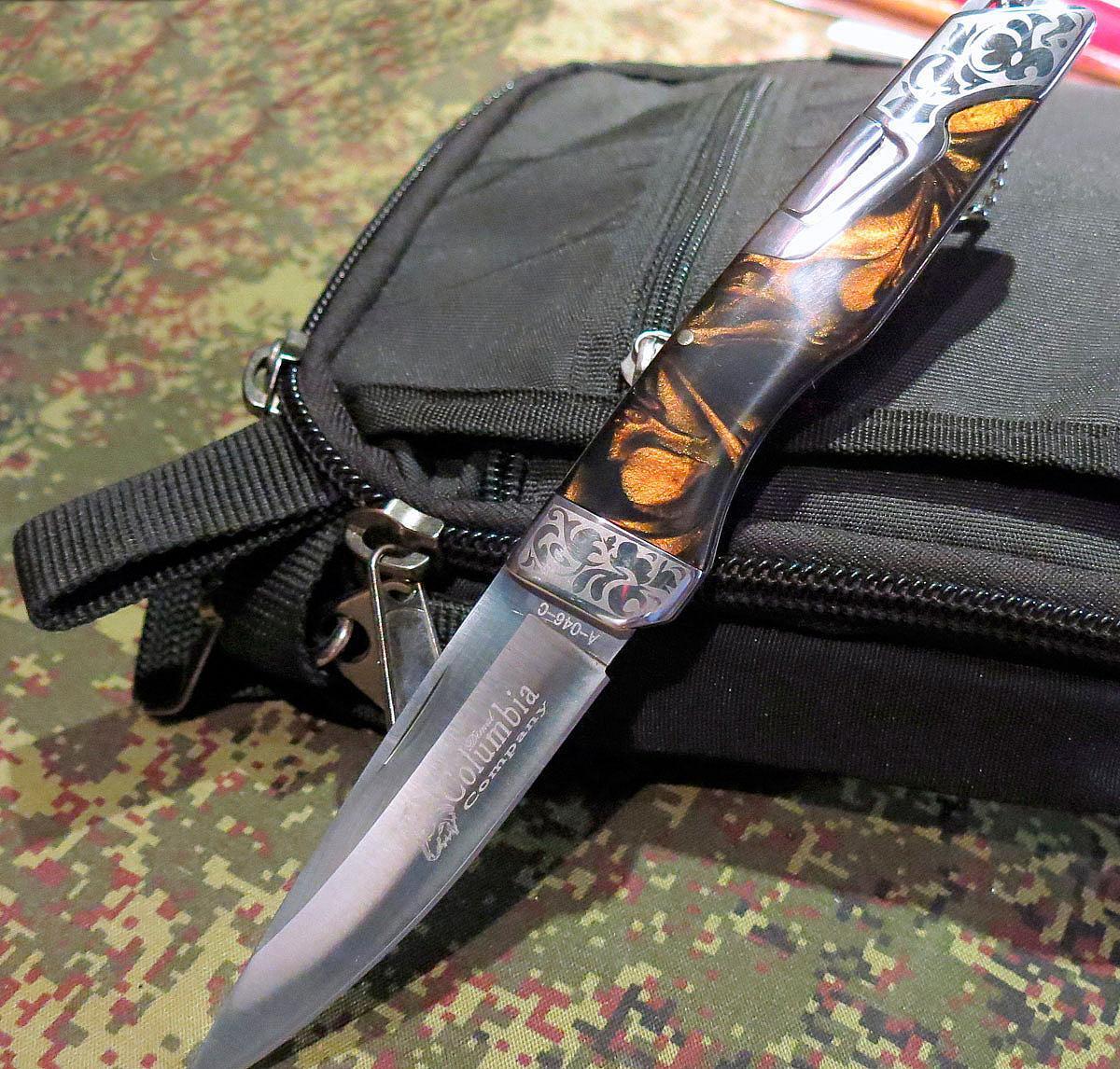 Нож Колумбия складной