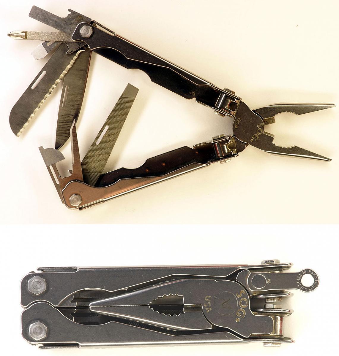 Нож мультитул