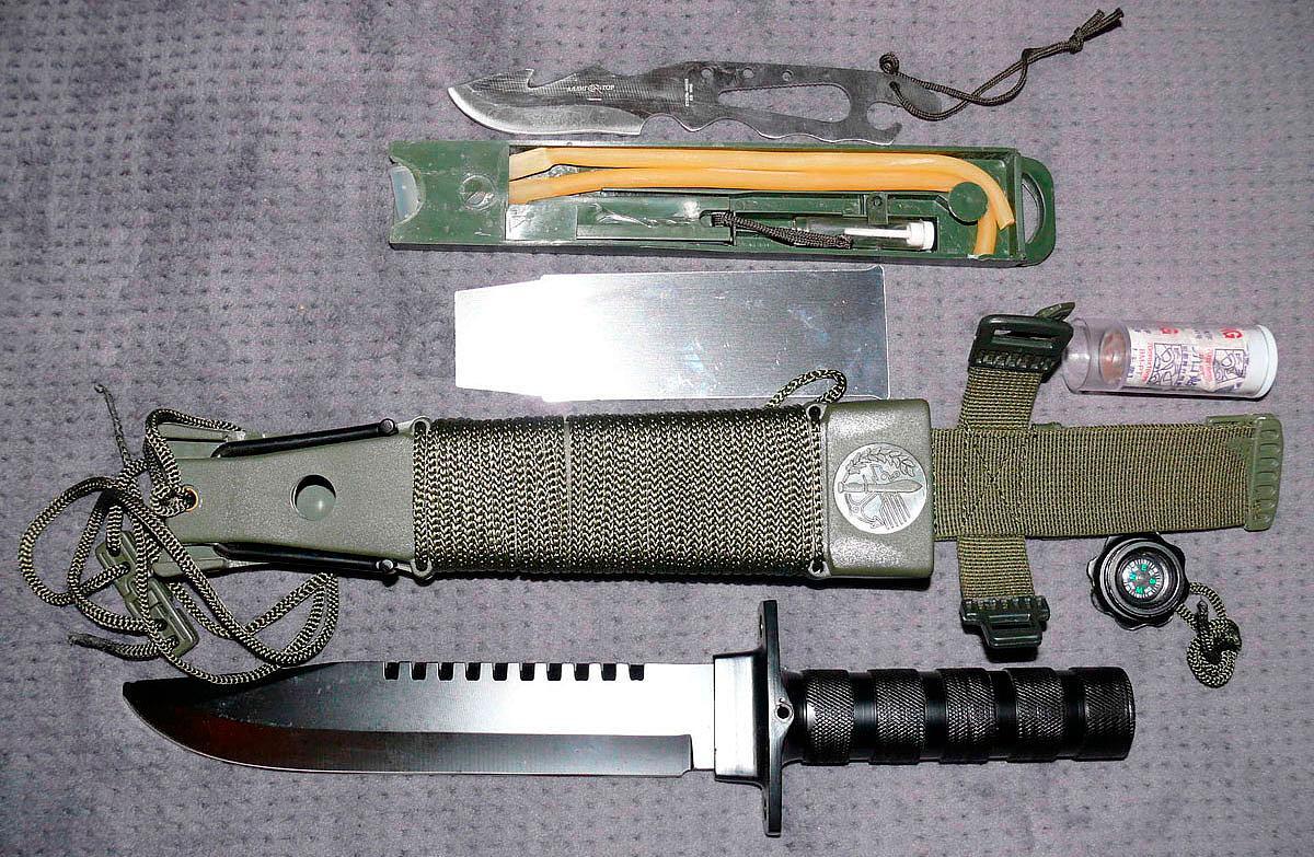 Ножи для выживания фото