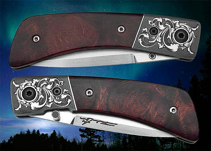 Основные разновидности замков складных ножей