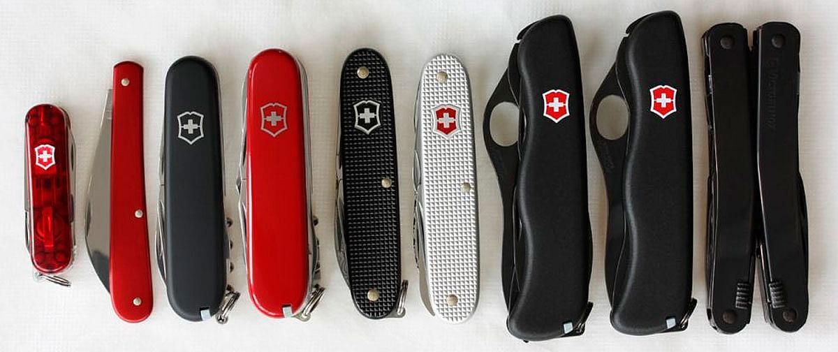 Швейцарские охотничьи ножи