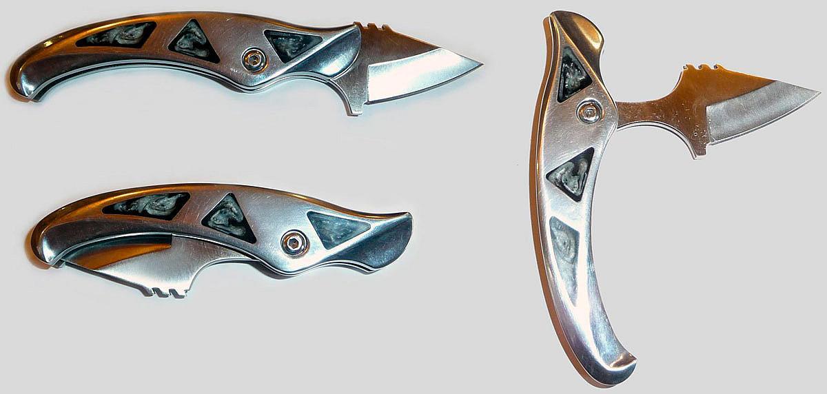 Складной нож своими руками