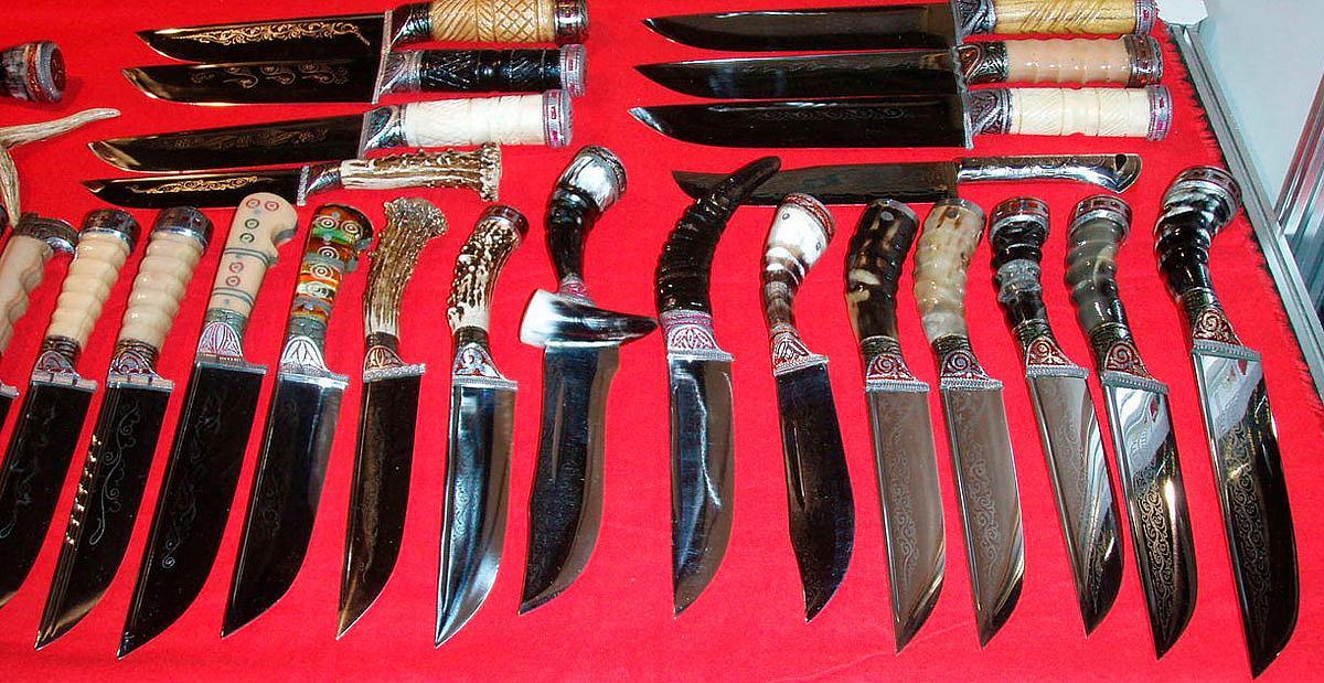 Узбекский нож