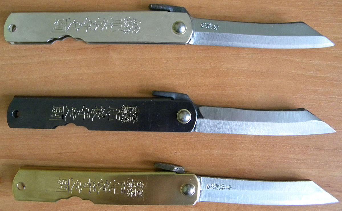 Японские складные ножи