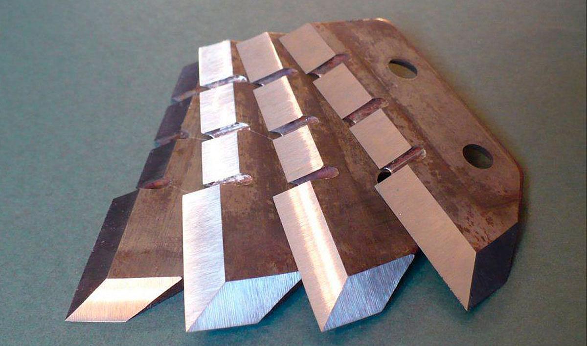 Заточка ножей для резаков