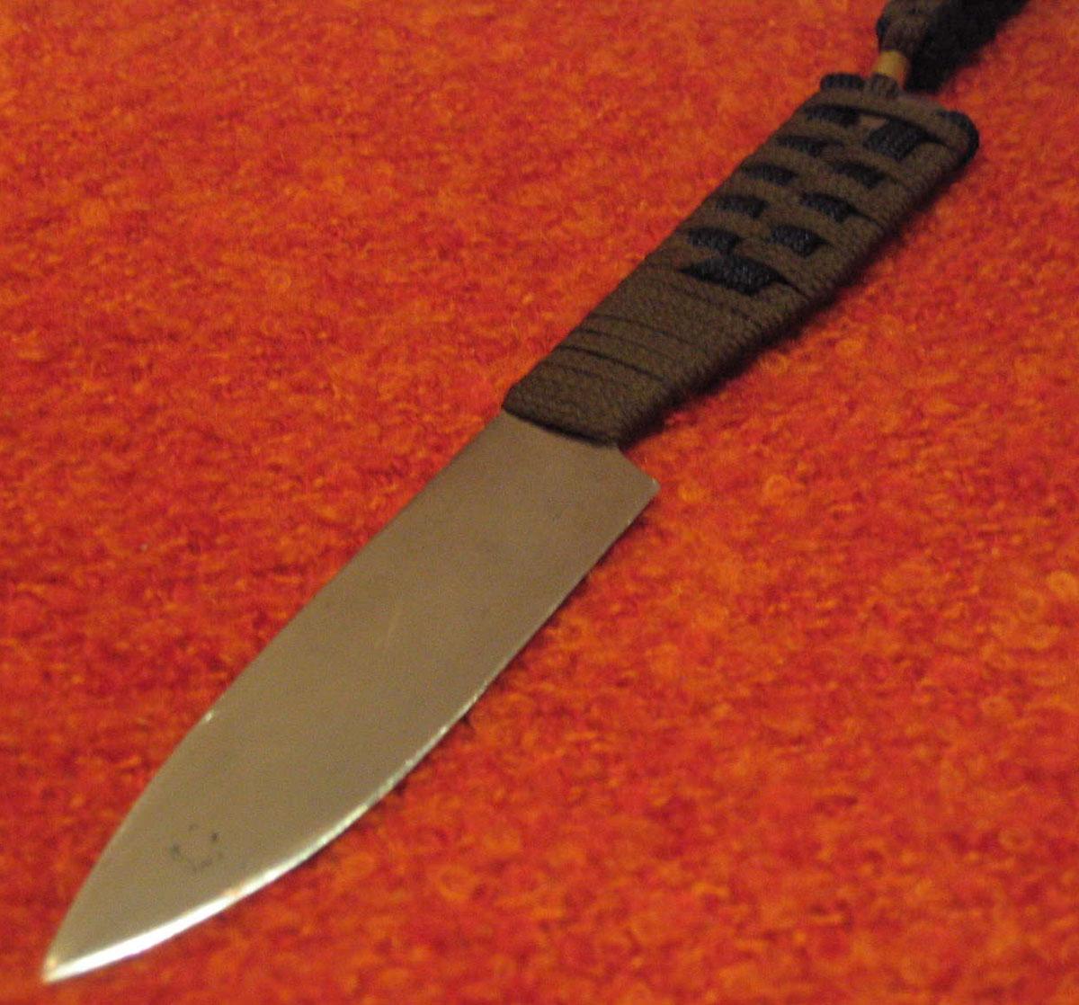 Как сделать нож без ковки 663