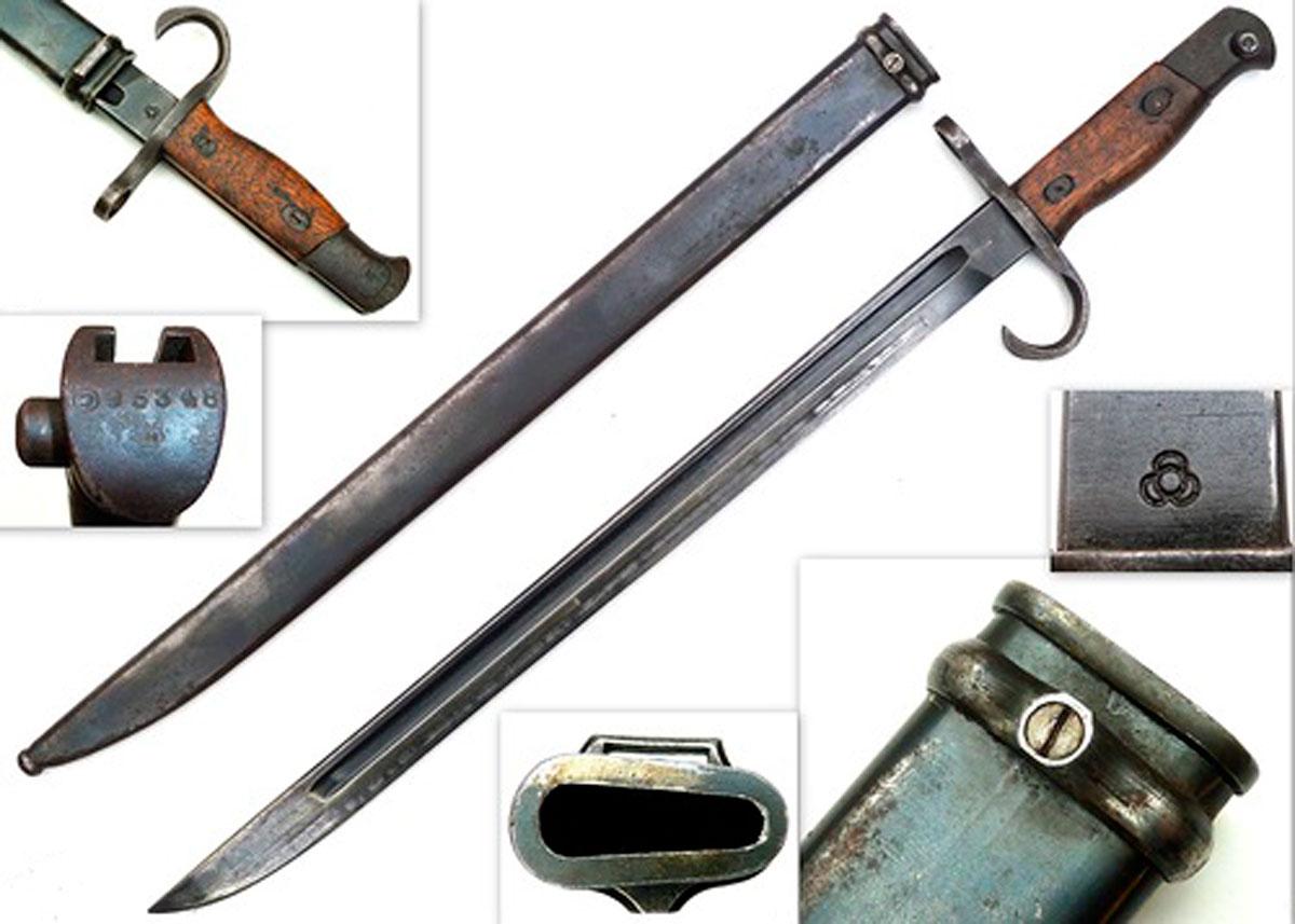 Парадное японский штык нож арисака нож bench 440