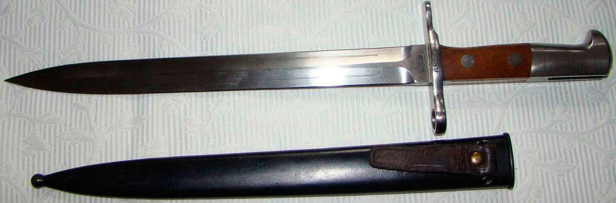 тесто фотография немецкого штык ножа части газового