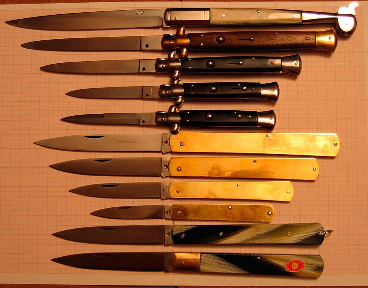 Самодельная заточка ножей