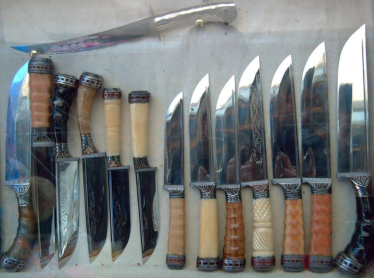 Как сделать нож из подшипника