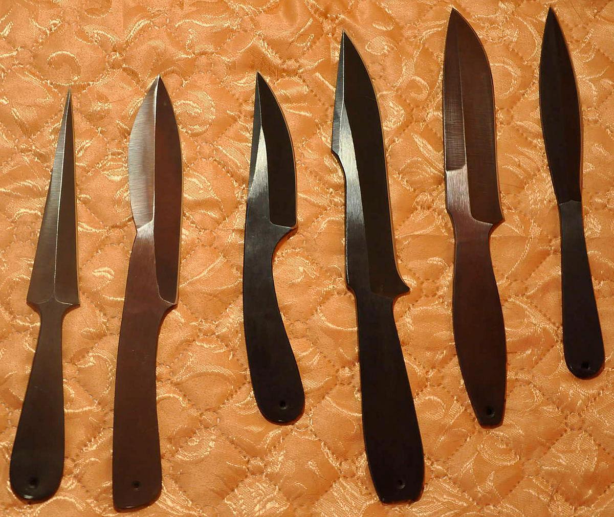 Изготовление метательного ножа