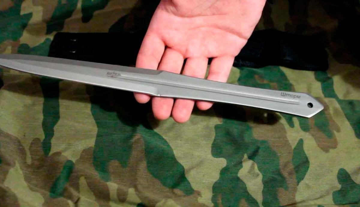 Самодельный метательный нож